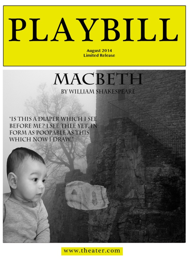 8 MACBETH Playbill 5x7